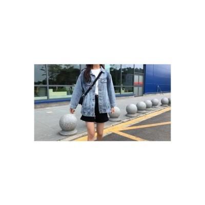 【送料無料】春秋 韓国風 ルース 何でも似合う デニムジャケット 気 | 346770_A64618-6164597
