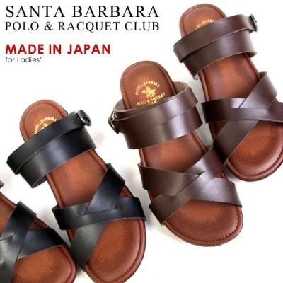 SANTA BARBARA サンタバーバラ 日本製 2WAY ウェッジソール サンダル 3.5cmヒール レディース 3020