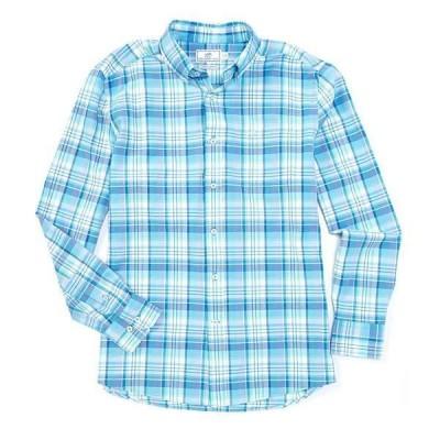 サウザーンタイド メンズ シャツ トップス Channel Marker Plaid Long-Sleeve Woven Shirt Rain Water