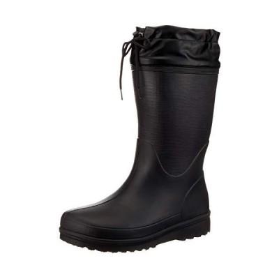 [福山ゴム] 超軽量ブーツ カルサーワン M-1 メンズ ブラック 24.5 cm 3E