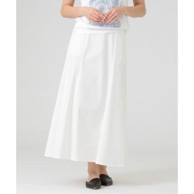 スカート チノストレッチスカート