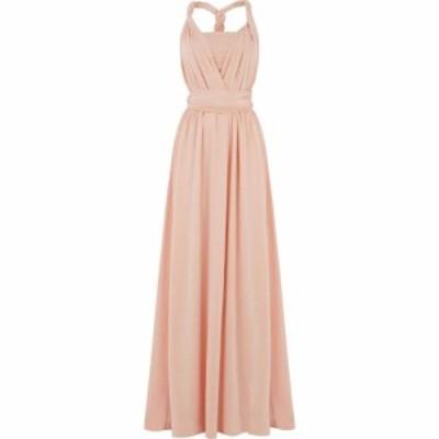 オアシス Oasis レディース ワンピース マキシ丈 ワンピース・ドレス Annie wear it your way maxi dress Dusky Pink