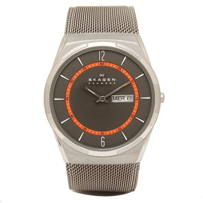「P10%還元 5/15〜16」スカーゲン 時計 メンズ アクティブ 40MM クォーツ ブラウン シルバー SKAGEN SKW6007