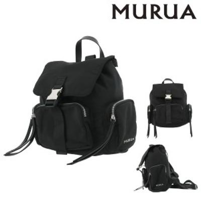 【レビューを書いて+5%】ムルーア リュック ツイル レディース MR-B794 MURUA   リュックサック