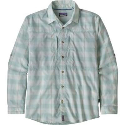 パタゴニア メンズ シャツ トップス Sun Stretch Long-Sleeve Shirt Haven/Atoll Blue