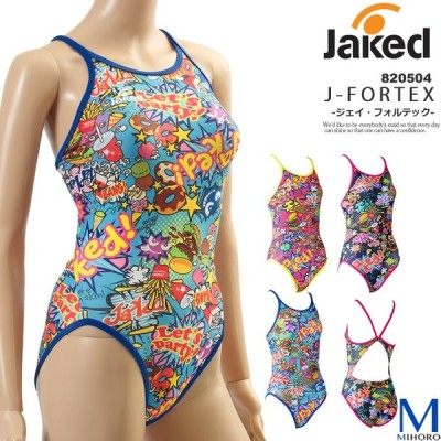 レディース 競泳練習用水着 女性 jaked ジャケッド 820504