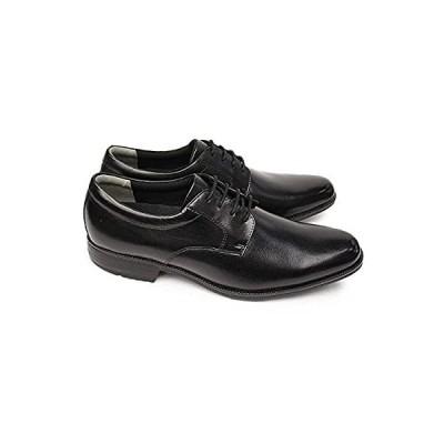 [ムーンスター] 靴 ビジネスシューズ 本革 メンズ SPH4600 レザー プレーントゥ ブラック 26.0cm