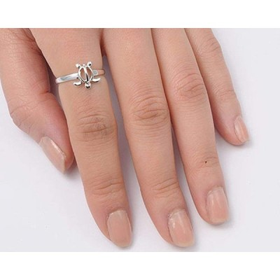 Women's Sea Turtle Cute Wholesale Ring New .925 Sterling Silver Band S