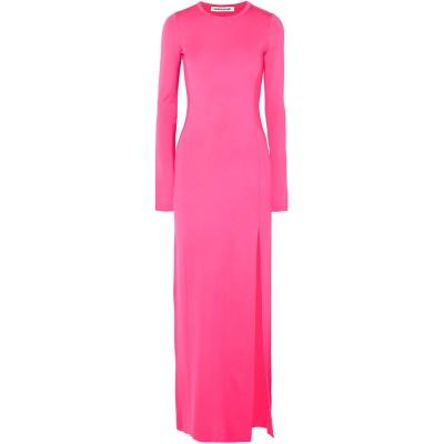 エリザベスアンドジェームス ELIZABETH AND JAMES ロングワンピース&ドレス フューシャ XS レーヨン 96% / ポリウレタン