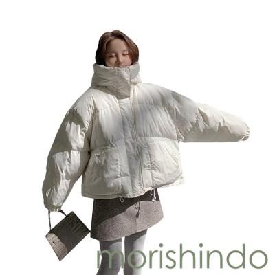 ダウンジャケット 中綿コート レディース ショート丈 フード付き おしゃれ 大きいサイズ ゆったり 体型カバー 厚手 防寒 防風 暖かい