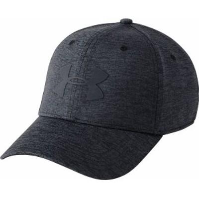 アンダーアーマー メンズ 帽子 アクセサリー Under Armour Men's Armour Twist Hat 2.0 Black/Stealth Gray