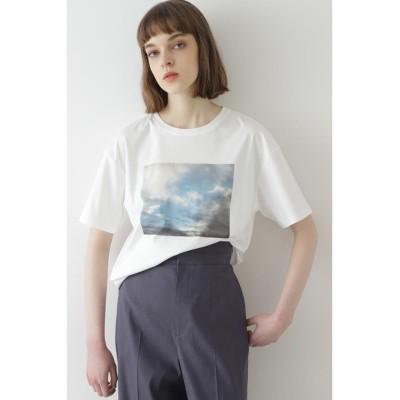 【ボッシュ】 グラフィックプリントTシャツ レディース 白 38 BOSCH