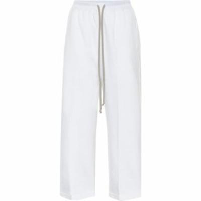 リック オウエンス Rick Owens レディース ボトムス・パンツ high-rise straight pants Chalk White