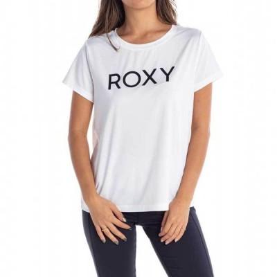 ROXY ロキシー Tシャツ 半袖 レディース 水陸両用 速乾 UVカット RST212532-WHT