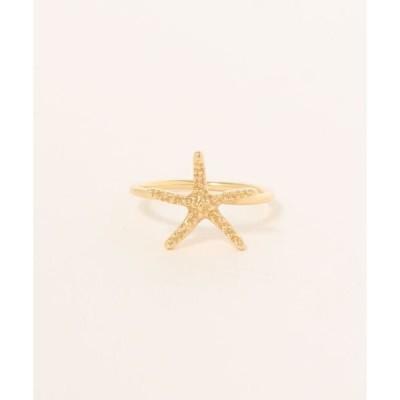 指輪 K18 Starfish Ring