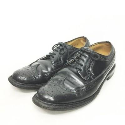 【中古】リーガル REGAL ウィングチップシューズ ビジネスシューズ レザーシューズ 革靴 25EE 0618 メンズ