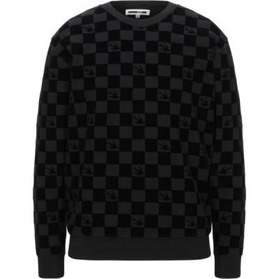 アレキサンダー マックイーン McQ Alexander McQueen メンズ スウェット・トレーナー トップス sweatshirt Black