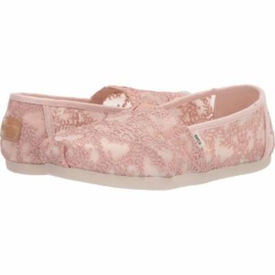 トムス TOMS レディース ローファー・オックスフォード シューズ・靴 Alpargata CloudBound Rose Gold Hibiscus