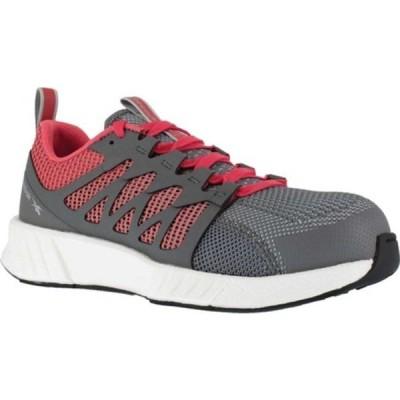 リーボック スニーカー シューズ レディース Fusion Flexweave Work RB312 Comp Toe Sneaker (Women's) Pink Knit