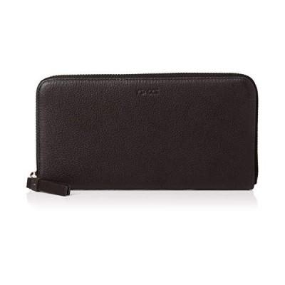 イザック 長財布(ラウンドファスナー) Y01-12-03 ブラック