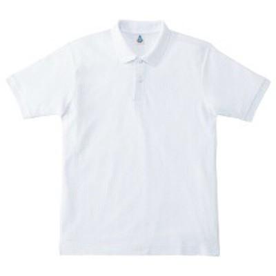 マキシマム MAXIMUM CVC鹿の子ドライポロシャツ [カラー:ホワイト] [サイズ:3L] #MS3113-15 スポーツ・アウトドア