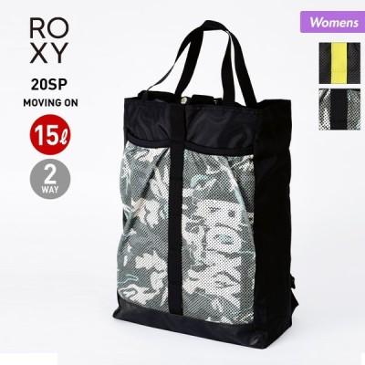 8%OFFクーポン配布中!! ROXY/ロキシー レディース バックパック 2WAY トートバッグ 15L リュックサック デイパック かばん 鞄 RBG201371