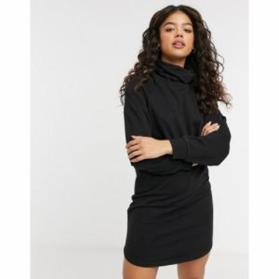 ジェイディーワイ JDY レディース ワンピース ミニ丈 ワンピース・ドレス Roll Neck Sweat Mini Dress In Black ブラック