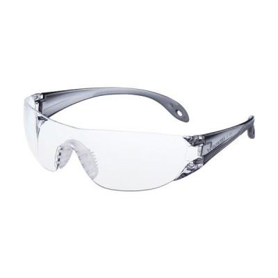 YAMAMOTO 一眼型セーフティグラス レンズ色クリア テンプルカラーライトスモークJIS規格品 ( LF-102 ) 山本光学(株)