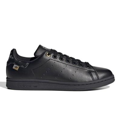 adidas STAN SMITH W アディダス スタンスミス ウィメンズ CORE BLACK/GOLD METALLIC/SILVER METALLIC fx5646