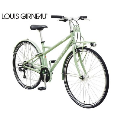 クロスバイク 2021 LOUIS GARNEAU ルイガノ MULTIWAY27 マルチウェイ27 シーグリーン 440mm 7段変速 シティーサイクル