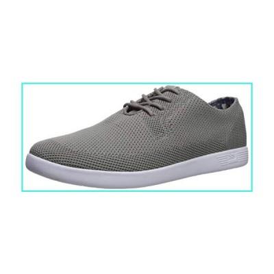 【新品】Ben Sherman Men's Parnell Oxford V2 Sneaker, Grey Fly Knit, 9 M US(並行輸入品)