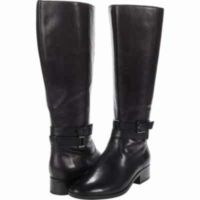 ナチュラライザー Naturalizer レディース シューズ・靴 Reid Wide Shaft Black Leather