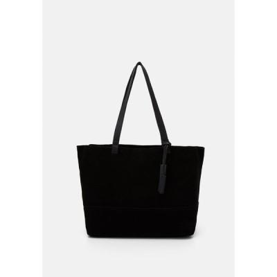 ジン トートバッグ レディース バッグ LEATHER - Tote bag - black
