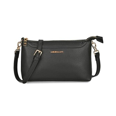 Crossbody Bags for Women, Lightweight Purses and Handbags PU Leather Small Shoulder Bag Satchel with Adjustable Strap【並行輸入品】