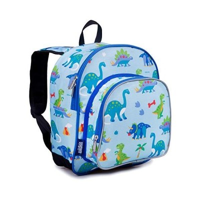 Wildkin 12 Inch Kids Backpack for Toddlers, Boys & Girls, 600 Denier Polyes
