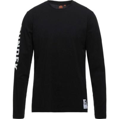 サンデッキ SUNDEK メンズ Tシャツ トップス t-shirt Black