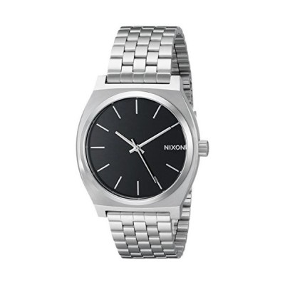 Nixon Unisex Time Teller Japanese quartz Stainless Steel watches Black A045【並行輸入品】
