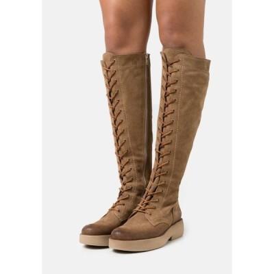 フェルミニ ブーツ&レインブーツ レディース シューズ EXTRA - Lace-up boots - marvin stone