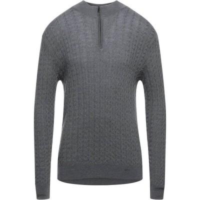 ポール シャーク PAUL & SHARK メンズ ニット・セーター トップス sweater with zip Grey