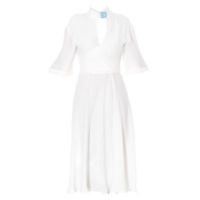 オフホワイト レディース ワンピース トップス Off-White Tie-Waist Midi Dress -