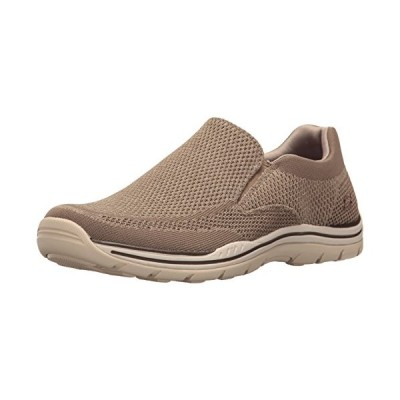 Skechers USA メンズ Expected Gomel スリップ-on Loafer, モグラ, 12 M US(海外取寄せ品)