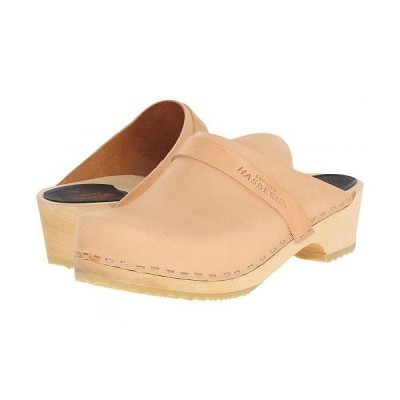 Swedish Hasbeens スウェディッシュハズビーンズ レディース 女性用 シューズ 靴 クロッグ ミュール Swedish Husband - Nature