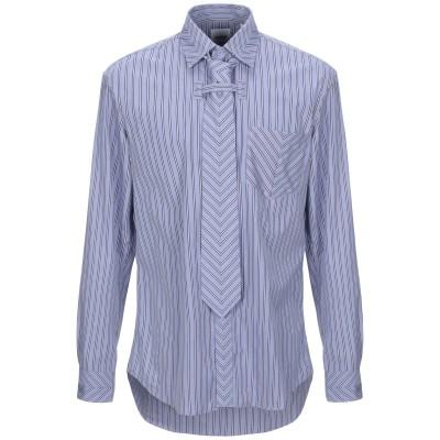 BURBERRY シャツ ブルーグレー 41 コットン 100% シャツ