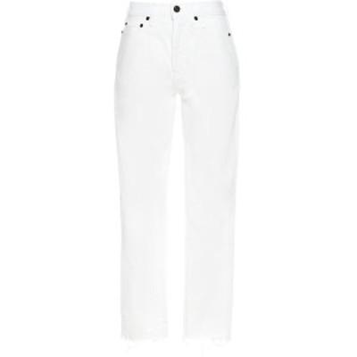 SAINT LAURENT PARIS/イヴ サンローラン White Carrot fit jeans レディース 春夏2021 612061Y888O9601 ju