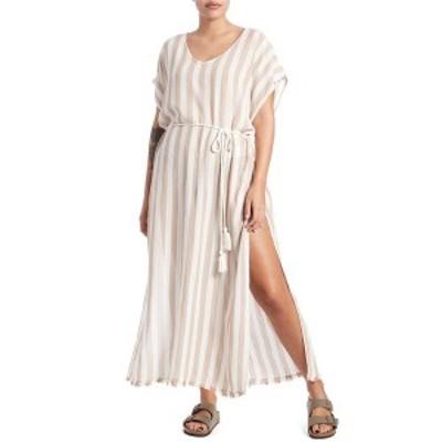 ビラボン レディース ワンピース トップス Billabong Wink Away Cover Up Dress - Women's Khaki Sand