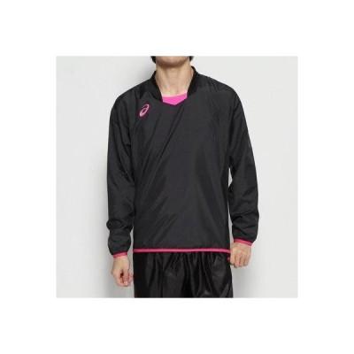 アシックス asics バレーボール 長袖Tシャツ ナガソデウォームアップシャツ 2053A055