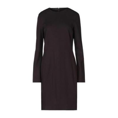 CALVIN KLEIN COLLECTION カルバンクライン コレクション チューブドレス  レディースファッション  ドレス、ブライダル  パーティドレス ボルドー
