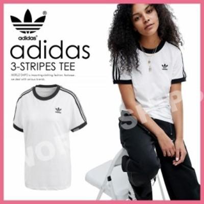 日本未入荷 ! アディダス 3 ストライプス Tシャツ 半袖 adidas Originals 3-STRIPES TEE ホワイト【海外限