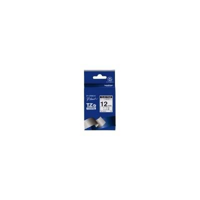 ato6189-0558  ピータッチ用TZeテープカセット フレキシブルIDテープ白に黒文字12mm 1本 ブラザー TZE-FX231