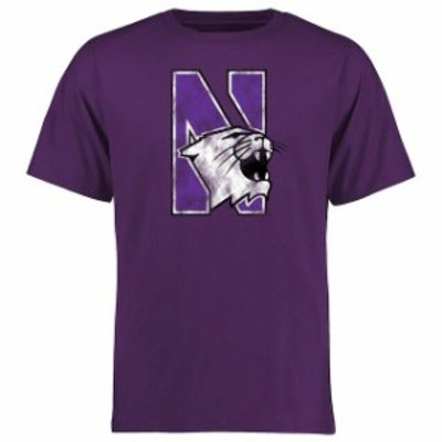 Fanatics Branded ファナティクス ブランド スポーツ用品  Northwestern Wildcats Purple Big & Tall Classic Primary T-Shirt